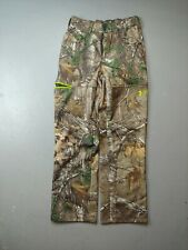 Under Armour Hunting Pants Scent Control Realtree Camouflage Size Medium