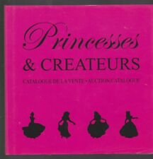 Disney PRINCESSES & CREATEURS Catalogue vente CHRISTIE'S collector hors commerce