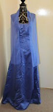 Pre-Loved Electric Blue Prom/Ball Dress Size 10