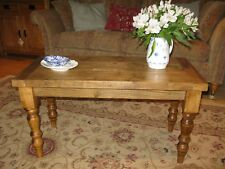 Hand made rustic farmhouse style coffee table
