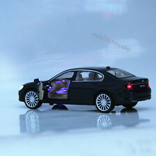 Sound&Light Bmw 760 Li 1:34 Model Cars Alloy Diecast Collection&Gifts Toys New