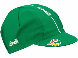 Cinelli Cap Collection:  Cinelli Supercorsa Cycling Cap in Jaguar Green by Cinel
