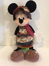 """Bohemian Minnie Mouse 18"""" Plush Disney Parks Exclusive"""
