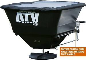 ATV Broadcast Spreader Lawn Electric Seed Feed Fertilizer Farm Landscape 12 Volt