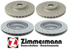Mercedes CLS55 AMG 2006 E55 AMG 03-06 2 Front & 2 Rear Disc Brake Rotors KIT