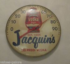 """Jacquin's Royale Vodka Round 10"""" Advertising Wall Thermometer"""