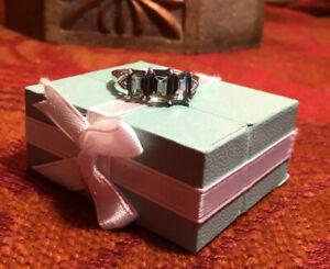 925 Sterling Silver Mystic Topaz Ring