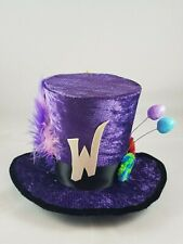 Willy Wonka Chocolate Factory Mini Top Hat Fancy Dress Halloween