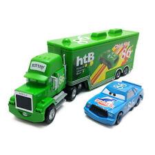 Disney Pixar Car No.86 Chick Hicks Mack Truck & Dinoco Chick Hicks Toy Car 1:55