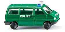 WIKING Modell 1:160/N Polizei - VW T4 Bus minzgrün #093507 NEU/OVP