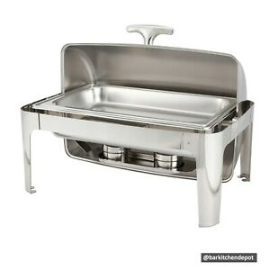 9L Yufeh Full-sized Roll Top Stainless Chafing Dish