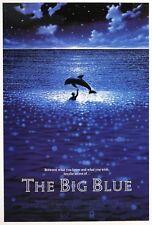 Im Rausch der Tiefe - big Blue: Delfin (1988) | US Import Filmplakat Poster