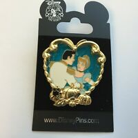 DLR Walt's Classic Collection - Cinderella with Prince Charming Disney Pin 74152