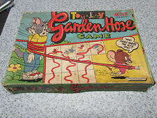 1990 NUBEE GAMES TOM & JERRY GARDEN HOSE GAME COMPLETE BUT NO INSTRUCTIONS