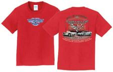 10th Annual Corvette Reunion @ BACK TO THE BRICKS YOUTH T Shirt RED SIZE MED LRG