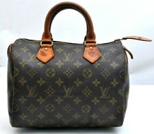 Authentic Louis Vuitton Monogram Speedy 25 Hand Bag M41528 LV A1958