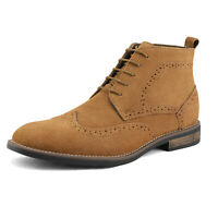 US Mens Suede Leather Chukka Desert Boots Ankle Boots Lace Up Dress Shoes