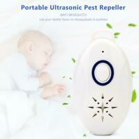 Portable Ultrasonic Pest Reject Electronic Repeller Anti Mosquito Insect Killer