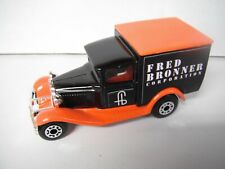 """Special Limited Edition Matchbox Model A Ford Van """"Fred Bronner Corporation"""""""