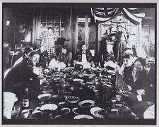 """1880's ROYAL LUAU WITH KING KALAKAUA AND ROBERT LEWIS STEPHENSON 8X10"""" ON MAT"""