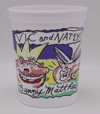 Krewe du Vieux Vic & Nat'ly Bunny Matthews New Orleans Mardi Gras Parade Cup