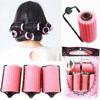 New Magic Sponge Foam Cushion Hair Styling Rollers Curlers Twist Tool Salon T&