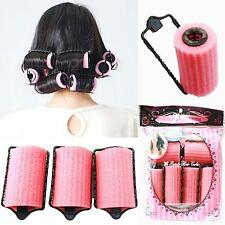 New Magic Sponge Foam Cushion Hair Styling Rollers Curlers Twist Tool Salon #4