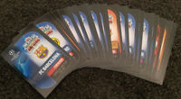 2019/20 Match Attax UEFA Soccer Football Cards - Lot of 50 cards inc 5 shiny