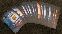 2019/20 Match Attax UEFA Soccer Football Cards - Lot of 50 cards inc 5 shiny