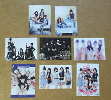 Kara Starcard lot Group -  8 Trading Cards KARA KPOP  Nicole Jung Hara Gu Gyuri