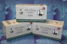 3 TE CHINO del DR MING 90 GAGS, slimming detox slimming tea colon cleanse