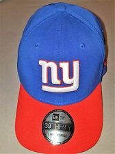 NEW ERA 39 FIFTY NFL NEW YORK GIANTS BLUE RED LARGE/ XLARGE NEW WITH TAGS