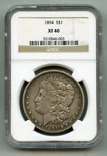 1894 Morgan Silver Dollar NGC XF 40