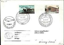 Schiffspost Schiff MS EUROPA Polar Kreuzfahrt Paquebot Brief Stempel Ny-Alesund