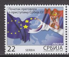 SERBIA 2014 **MNH  SC# Opening of the Negotiations for Accession of Serbia to EU