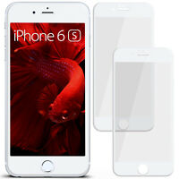 2x 3D Film Blindé Verre de Protection pour Apple IPHONE 6s / 6 Galbé Full Écran