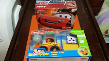 Fisher Price Little People Roberto and His Loader plus Disney CARS Puzzle - NEW