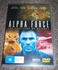 Alpha Force - Olivier Gruner, Roger R Cross - NEW SEALED - ALL PAL
