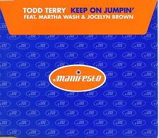TODDY TERRY Martha Wash  Keep On Jumpin 7TRX MIXES & DUB CD Single Jocelyn Brown