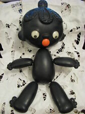"Blackamoor Chunga-Changa Black African Boy Plastic 11"" Doll from Russian Cartoon"