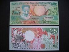 SURINAME  25 Gulden 1988  (P132b)  UNC
