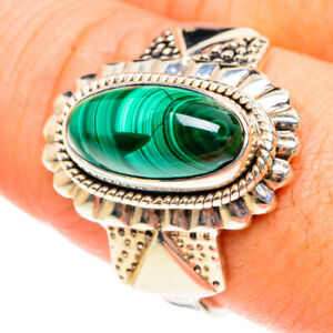 Malachite 925 Sterling Silver Ring Size 9 Ana Co Jewelry R76167F