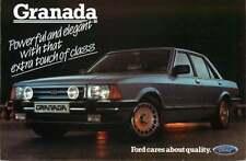 Postcard 1985? Ford Granada Ghia X Executive