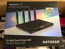 Netgear Nighthawk r8500-100pes x8 ac5300 ROUTER WIRELESS QUAD Stream Tri-Band