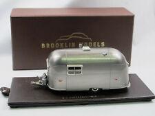 Brooklin Models BRK 54M 1953 Airstream Wanderer Trailer Bare Metal 1/43