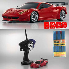 Kyosho MINI-Z MR-03S Ferrari 458 Italia GT2 Red Ready Car RTR w/ Free Tool Set