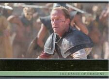 Game Of Thrones Season 5 Gold Parallel Base Card #27 The Dance of Dragons