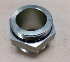 """2"""" (2 inch) Male ORB x 2"""" (2 inch) Male NPTF Straight Hydraulic Fitting"""