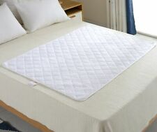 """Large Waterproof Underpad Bed Pad for Incontinence and Bed Wetting, 52"""" x 34"""""""