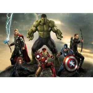 5D Diamond Painting Hulk The Avengers Full Drill Mosaic Kits for Adults